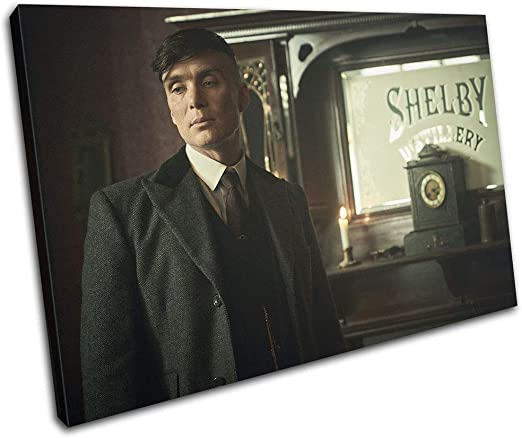 Peaky Blinders Wall Art Canvas solid frame **Amazing colours** Canvas King