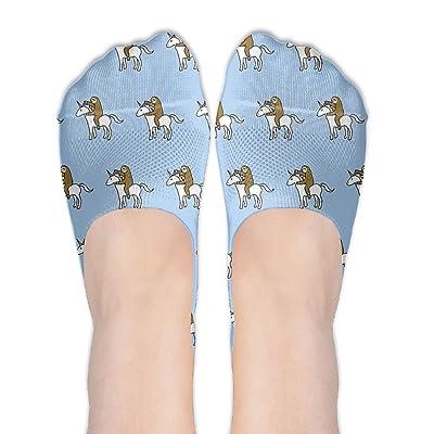 CHI-M Sloth Unicorn Women's Low Cut No-show Socks Non-Slip Socks