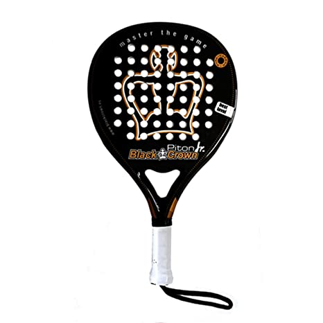 Pala de Pádel Piton Junior - Black Crown: Amazon.es ...