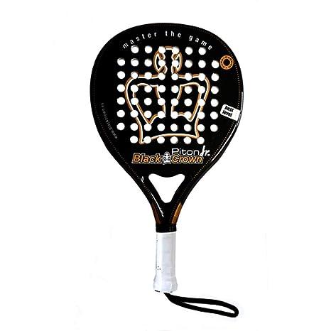 Pala de Pádel Piton Junior - Black Crown: Amazon.es: Deportes y ...