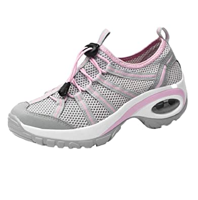 6e132b7dd4360 Boomboom Women Shoes Mesh Running Shoes Women's Lightweight Fashion ...