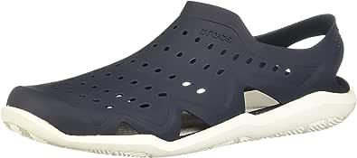 Crocs Swiftwater Wave M Zapatos de agua Hombre, Azul (Sea/Blue/White/Strap), 39-40 EU (6 UK)