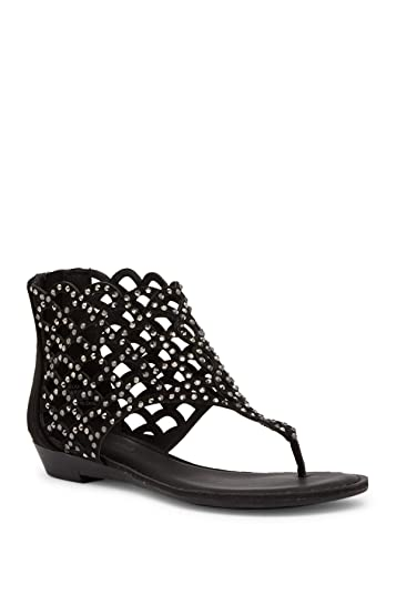 b61bb5b9da862f Amazon.com | ZIGI SOHO Women's Mela Black 7 M US | Sandals