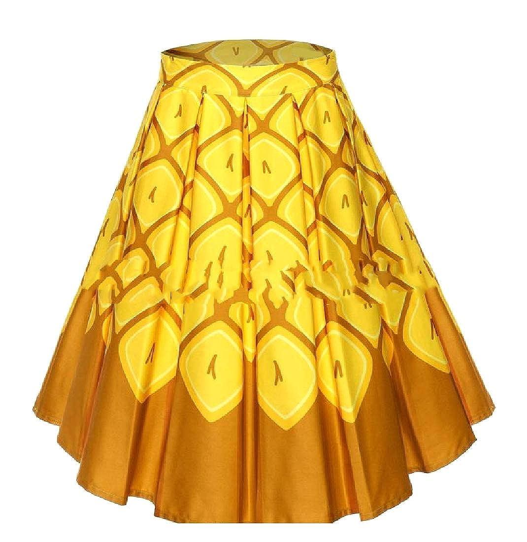 Andopa 1950 oscilación de la vendimia falda regular Rockailly ...