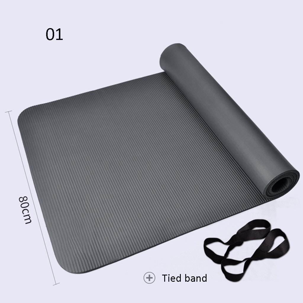 A  Pique-Nique 185cm  80cm  10mm Tapis de Yoga de Remise en Forme antidérapante MultiCouleure facultatif