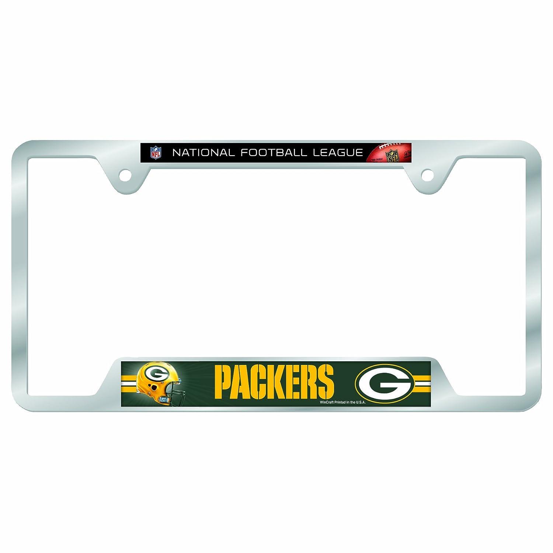 Wincraft NFL Green Bay Packers Metall Nummernschild Rahmen: Amazon ...