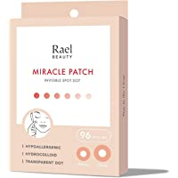 Rael Acne Pimple Healing Patch - Absorbing Cover, Invisible, Blemish Spot, Hydrocolloid, Skin Treatment, Facial Stickers…