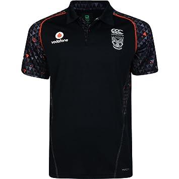 Canterbury Mens NZ Warriors Replica Rugby Training Polo Shirt ...