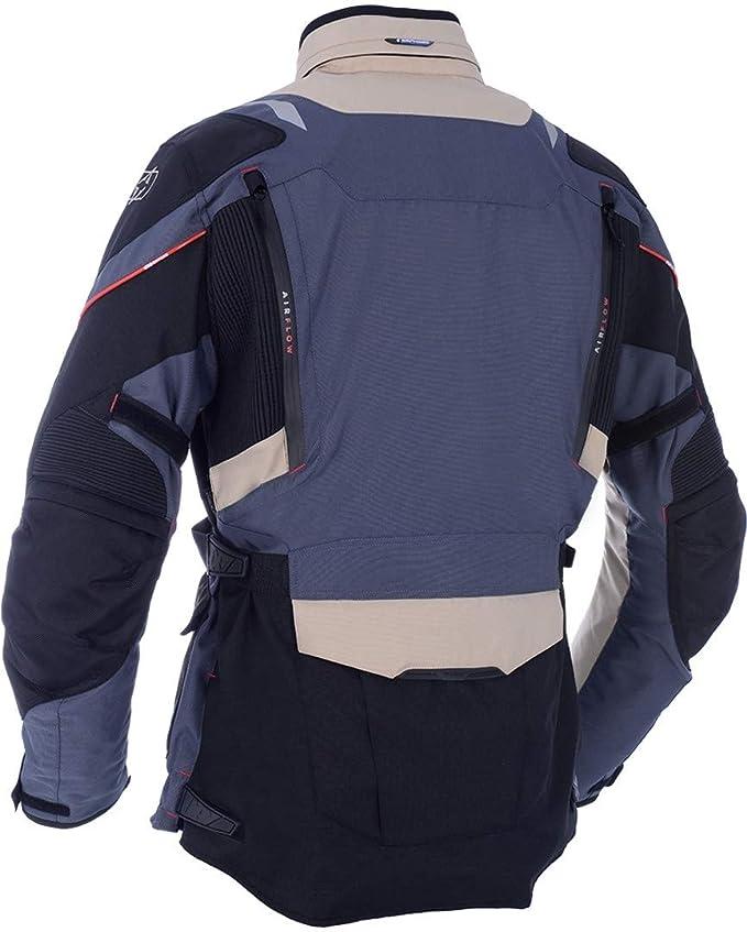 Oxford Montreal 3.0 Textile Jacket (MEDIUM) (BLACK/FLO YELLOW)