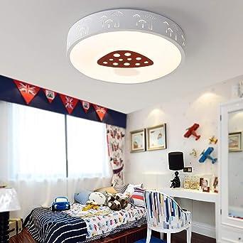 Los niños Cartoon LED lámpara de techo seta dormitorios ...
