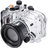 Andoer sy-6 40 m/130 FT Wasserdicht Kamera Gehäuse Unterseeboot transparent für Sony RX100 III