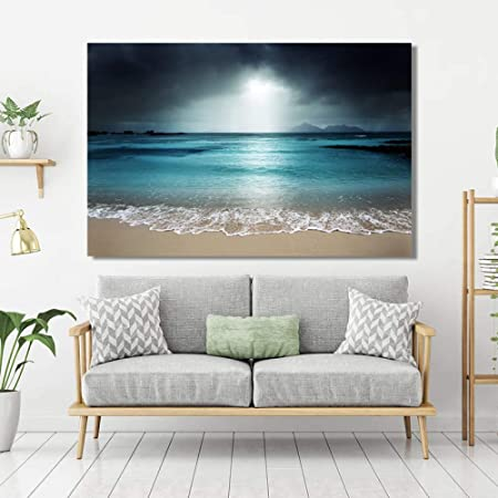Tzxdbh Paysage Marin Moderne Affiche Et Impression Murale