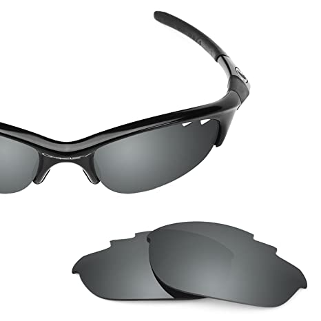 271090bcf91 Revant Polarized Replacement Lenses for Oakley Half Jacket Vented Elite  Black Chrome MirrorShield®  Amazon.co.uk  Clothing