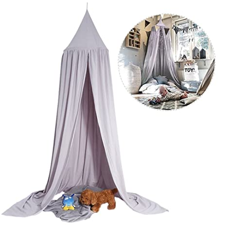 Mosquito Net CanopyDome Princess Bed Cotton Cloth Tents Childrens Room Decorate for Baby Kids  sc 1 st  Amazon.com & Amazon.com: Mosquito Net CanopyDome Princess Bed Cotton Cloth ...