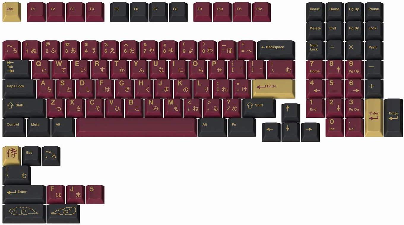 Drop + Redsuns GMK Red Samurai Keycap