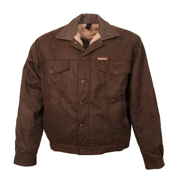 Scippis - Chaqueta - para hombre Marrón marrón: Amazon.es ...
