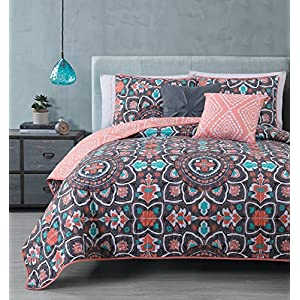 619cVTbkQUL._SS300_ Coral Bedding Sets and Coral Comforters