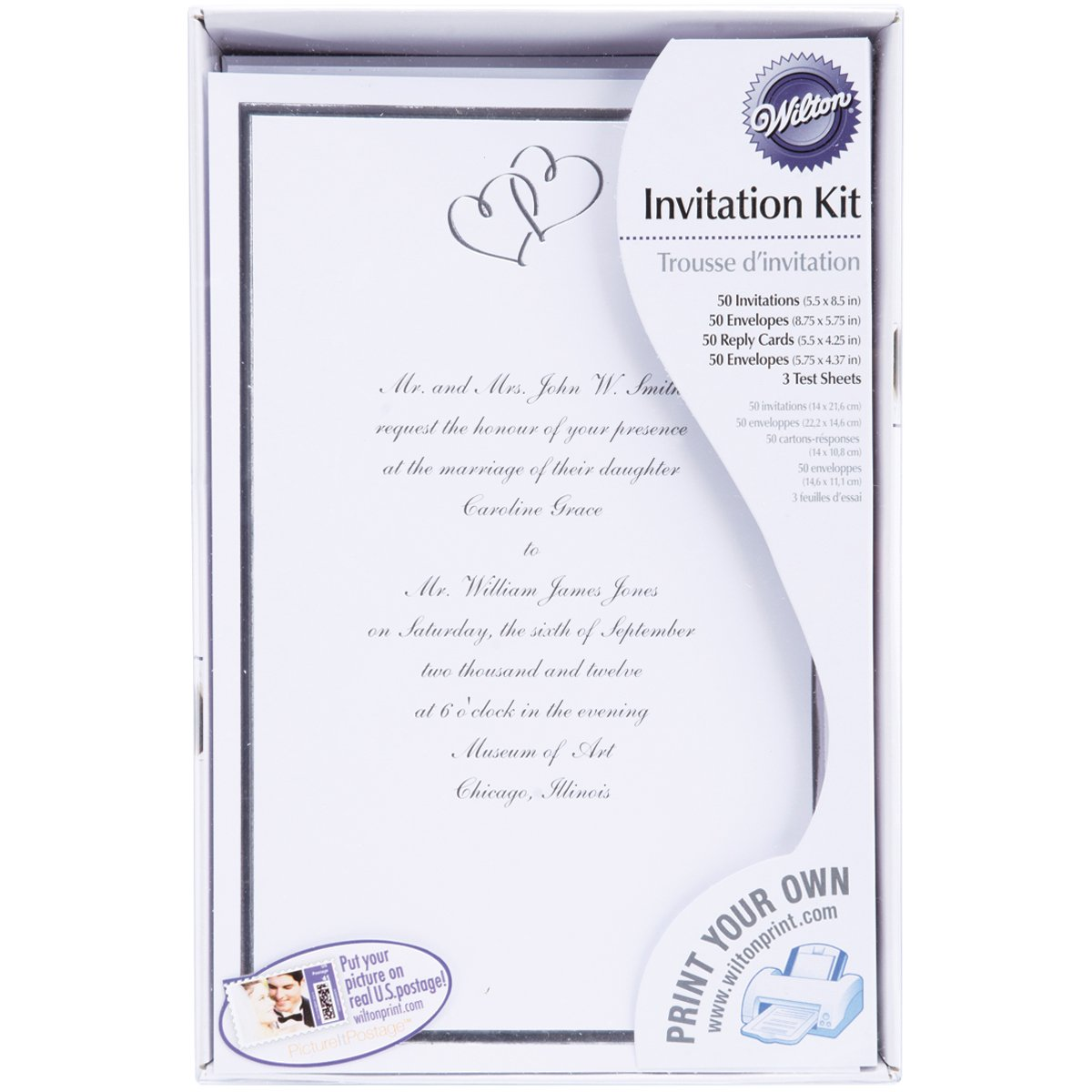 Amazon.com: Wilton Sweet Hearts Invitation Kit: Kitchen & Dining