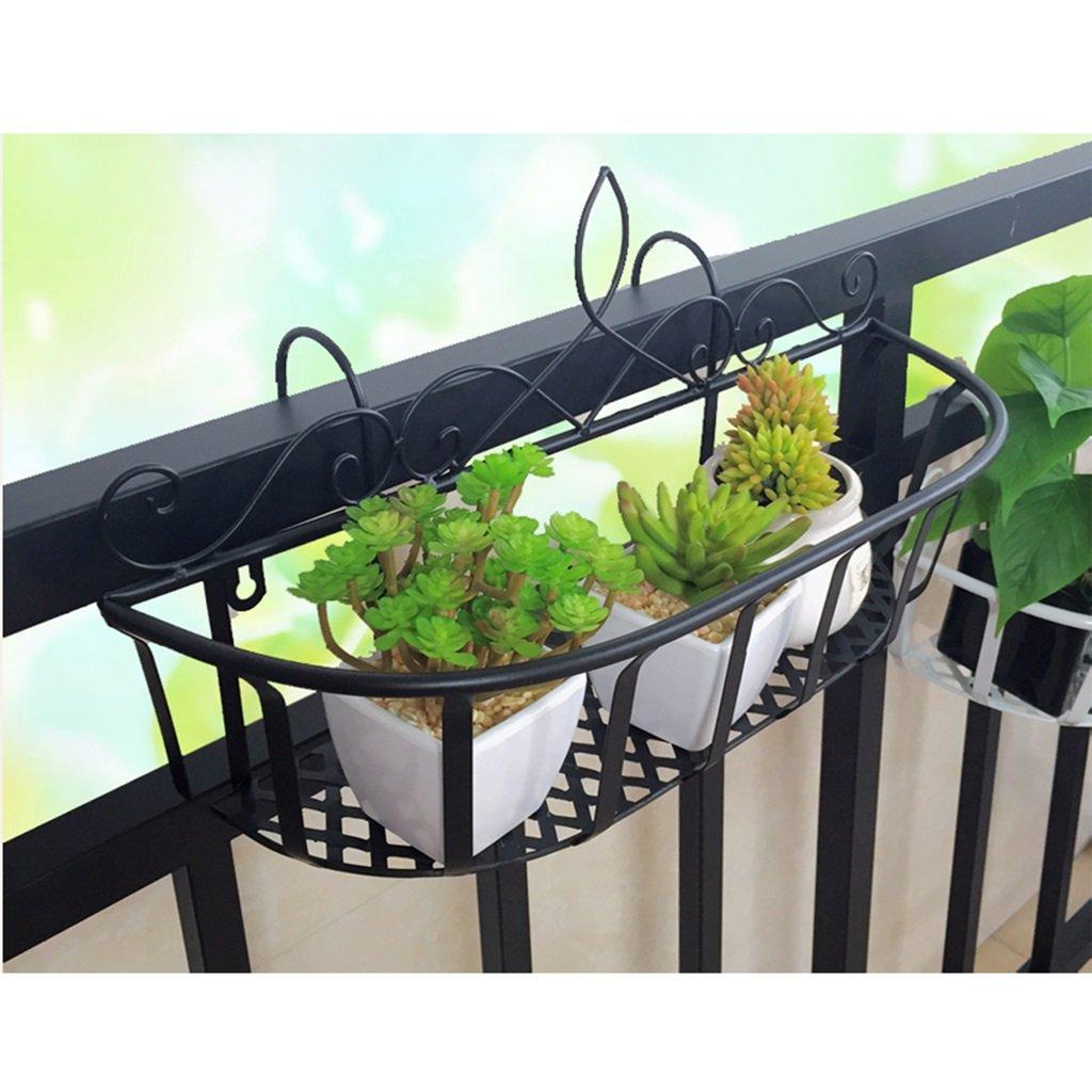 vendite dirette della fabbrica JXXQD Supporto europeo del fiore del ferro battuto ringhiera del del del balcone che appende l'insDimensionezione di perforazione libera della struttura dell'interno della parete del vaso da fiori dell'interno del  acquisto limitato