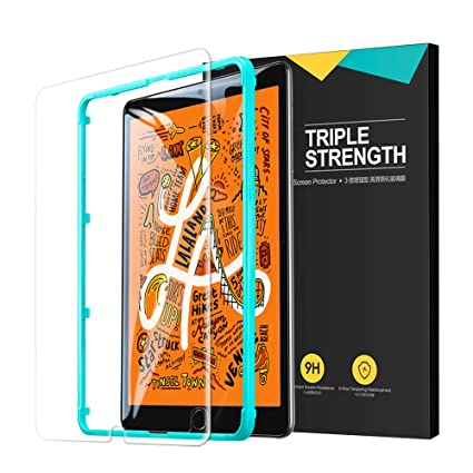 ESR Glass Screen Protector for iPad Mini 5 (2019) / iPad Mini 4, Premium  Tempered Glass HD Clear, 9H Hardness Scratch-Resistant, Bubble Free,