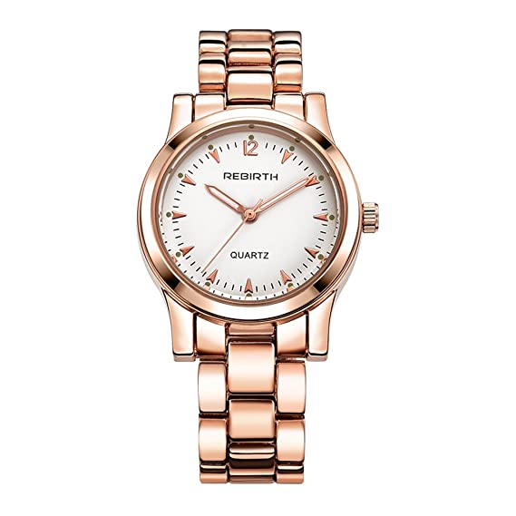 Correa de acero informal YPS unisex Las mejores marcas de lujo vestido de cuarzo WTH8493: Amazon.es: Relojes