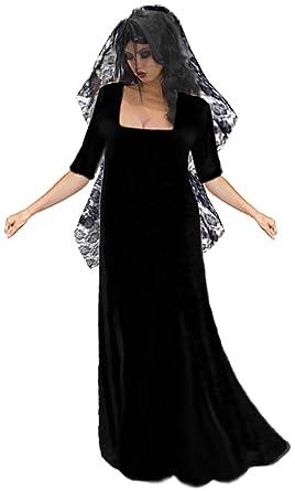 Sanctuarie Designs Womenu0027s Gothic Corpse Bride With Long Veil Plus Size Supersize Halloween Costume Dress/  sc 1 st  Amazon.com & Amazon.com: Gothic Corpse Bride and Long Veil Plus Size Supersize ...