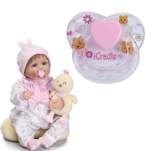 Darcylibisy Accesorios para chupetes Reborn Doll Supplies ...