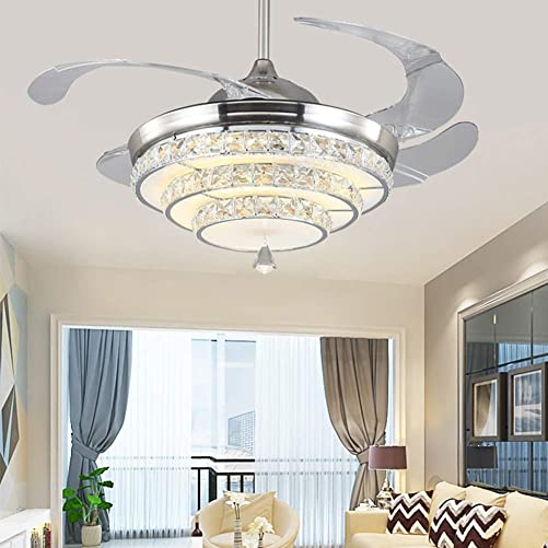 TFCFL 42″ Crystal Ceiling Fan