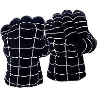 DDGOJUME Big Hulk Smash Hands, 1 par de Guantes de Boxeo Suaves de Hulk, Disfraz de Felpa de puño para niños y Adultos…