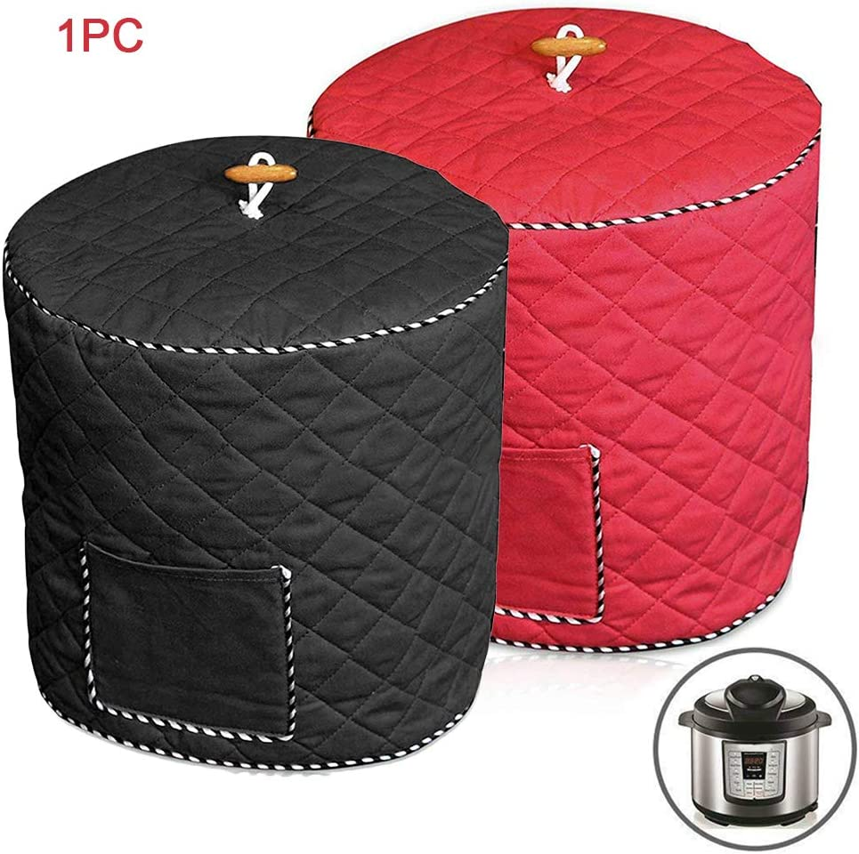 6QD 8QD Pressure Cookers Cover Fabric Pressure Cooker Cover Dust Cover for Pressure Cookers Rice Cooker Air Fryer and Crock Pot with Pocket Pressure Cookers Cover