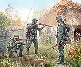 Zvezda Models 1/72 German Infantry Eastern Front 1941 (Snap Kit)