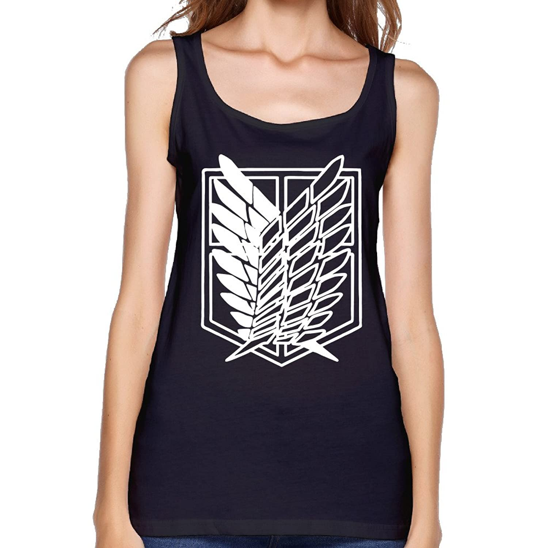 Attack On Titan Women Tank Top Muscle Shirt