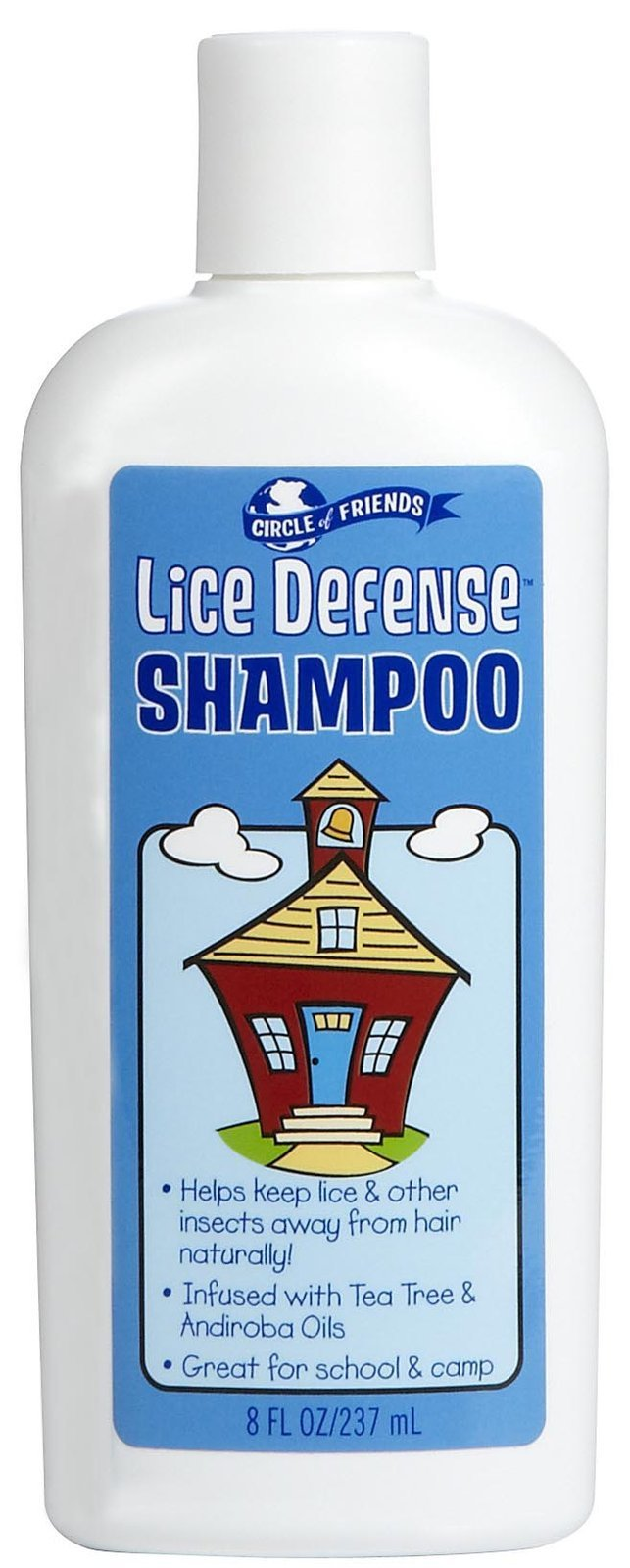 Circle Of Friends Lice Defense Shampoo, 8 Ounce