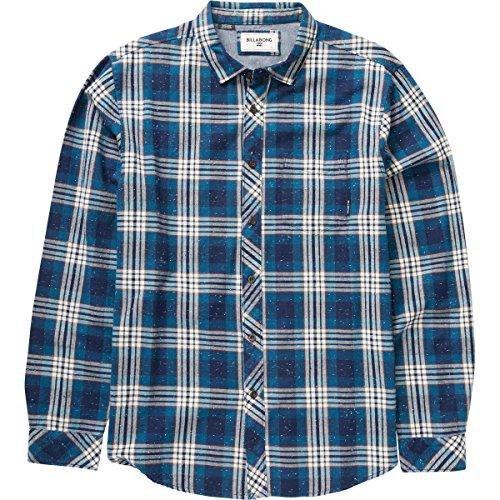 (Billabong Men's Jackson Woven Short Sleeve Shirt, Navy, Medium)
