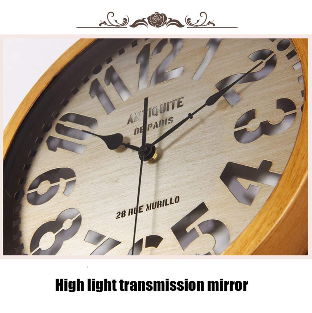Kreative Wanduhr Stummer Digital Schmiedeeisen Uhr Mit Fernbedienung