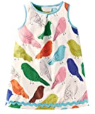 Amazon Price History for:Fiream Girls Casual Cotton Print Sleeveless Dress
