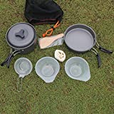 Pot Set Picnic Pot Set Outdoor Camping Alumina