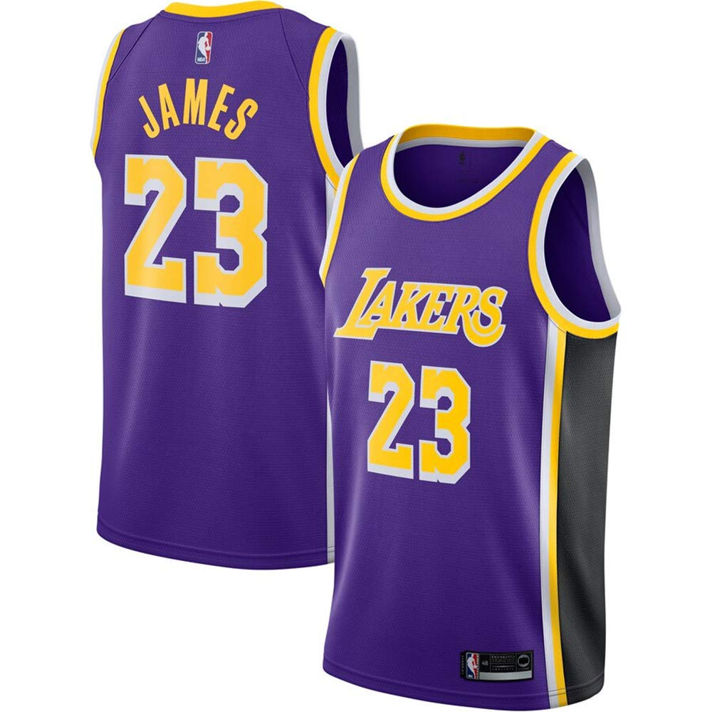 new styles b6d55 c3c16 #23 Lebron James Los Angeles Lakers 2018-19 Swingman Jersey - Icon Edition