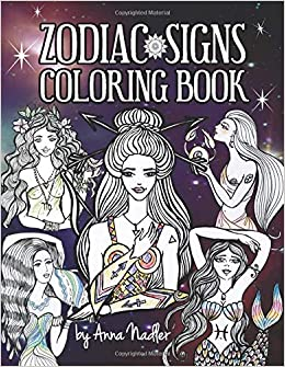 Amazon com: Zodiac Signs Coloring Book: A delightful