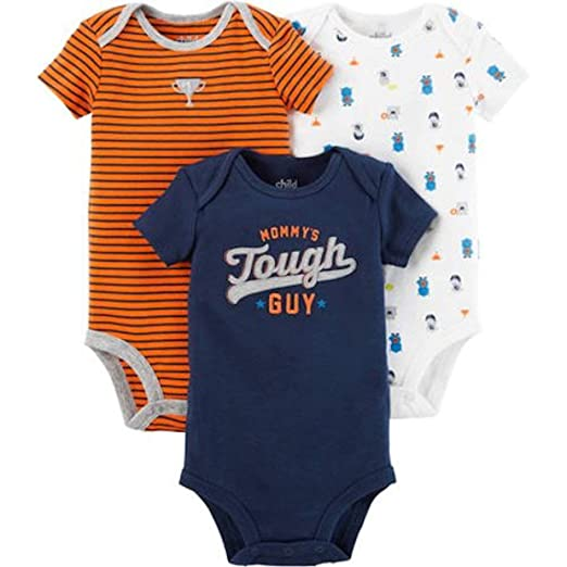 329ffa705 Child of Mine Infant Baby Boys Preemie 3 Piece Infant Baby Creeper Sleep  and Play Sets
