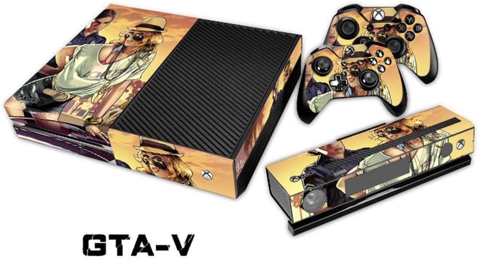 GTA-V Decal Cover Skin Sticker For XBOX One Console Controller ...