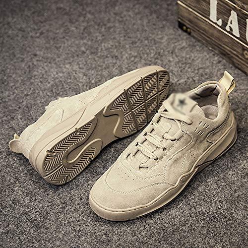 Chaussures Pour Haizjen Hommes À HommeDe LacetsDécontractées Gray Cricket FJcl1K