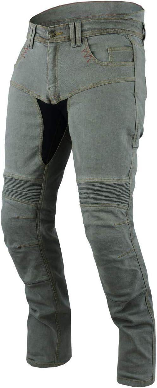 M Jet Motorradhose Jeans Kevlar Aramid Mit Protektoren Herren TECH PRO , Grau 48 Regul/är//Weite 32 L/änge 32