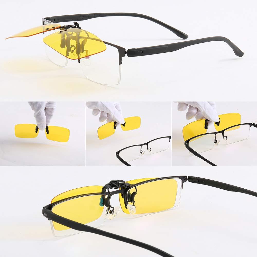 Amazon.com: 4 paquetes de gafas de sol polarizadas con clip ...