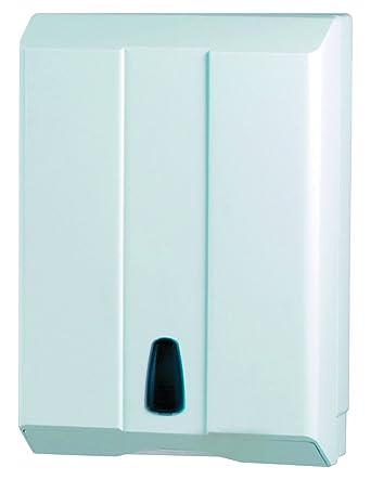 SYR X0200202 - Dispensador de toallas de mano de plástico ABS, 400 mm de altura