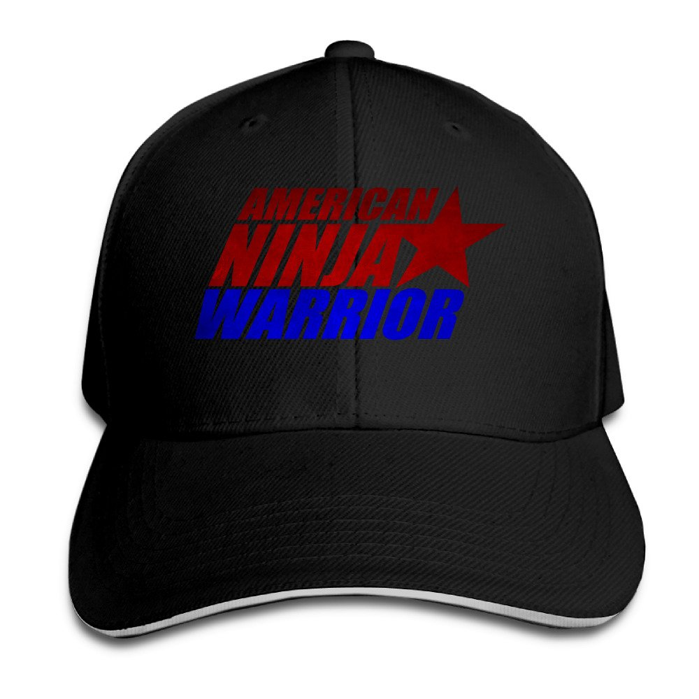 American Ninja Warrior Flexfit Baseball Cap Black Augatu