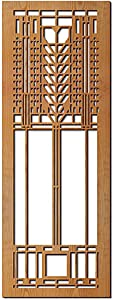 Frank Lloyd Wright Martin House Tree of Life Wood Art Screen Wall Panel