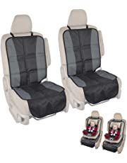 InstaSeat Car Seat Protectors Child & Baby Car Seats - Premium Non-Slip Backing Protects Vehicle Interior (Set of 2)
