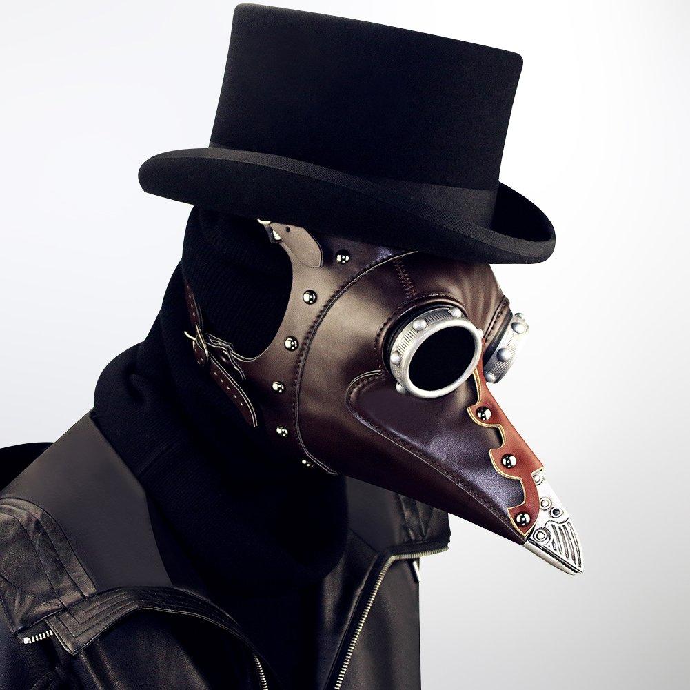 GY Máscara De Halloween, Steampunk Cuervo Pico-Máscara, Halloween Máscara De La Novedad Cosplay, Máscara del Partido Esencial, Tamaño Universal: Amazon.es: ...
