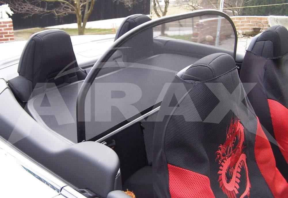 Airax Windschott f/ür 308CC 308 CC Cabrio Windabweiser Windscherm Windstop Wind deflector d/éflecteur de vent